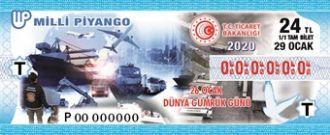 Milli Piyango Bilet Resmi