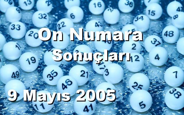 On Numara detay bilgiler 09/05/2005