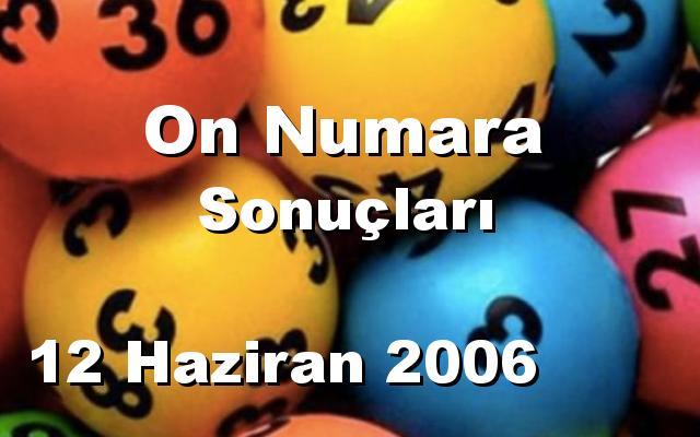 On Numara detay bilgiler 12/06/2006