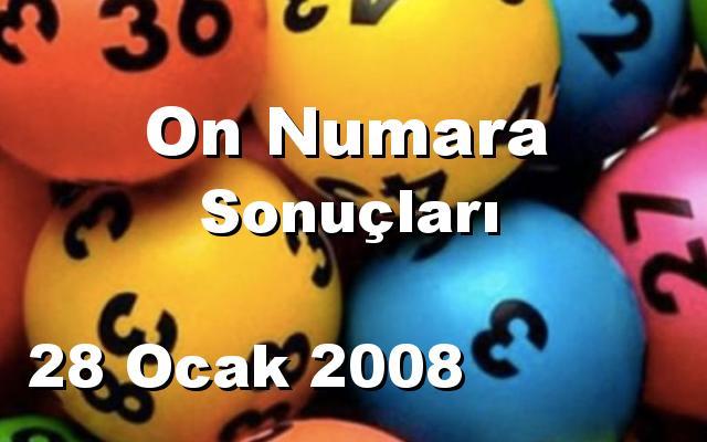 On Numara detay bilgiler 28/01/2008