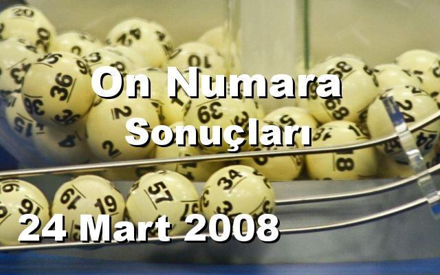 On Numara detay bilgiler 24/03/2008