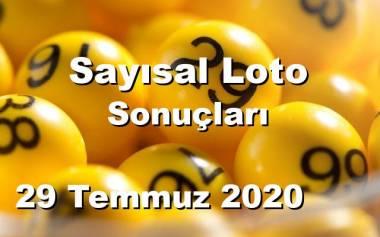 Sayısal Loto 29 Temmuz 2020