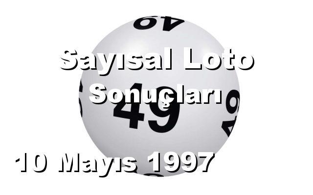 Sayısal Loto detay bilgiler 10/05/1997