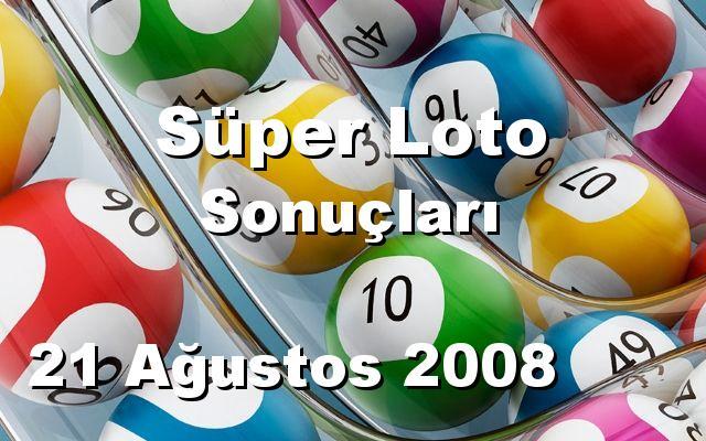 Süper Loto detay bilgiler 21/08/2008